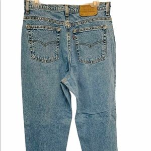 VTG 80's LEVIS 521 High Waist Mom Jeans Size 14P